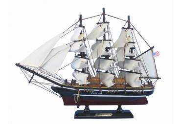 """Wooden Star of India Tall Ship Model 15"""""""
