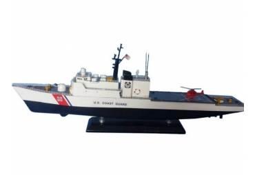 "United States Coast Guard USCG Medium Endurance Cutter Model Ship Limited 18"""