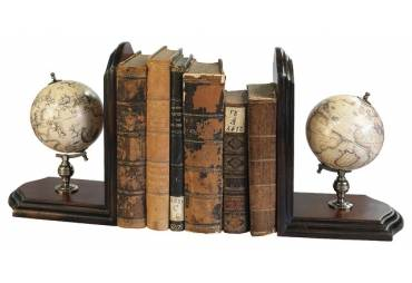 Globe Book Ends (Set of 2)
