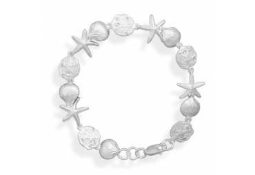 "7.25"" Small Sea Shore Bracelet"