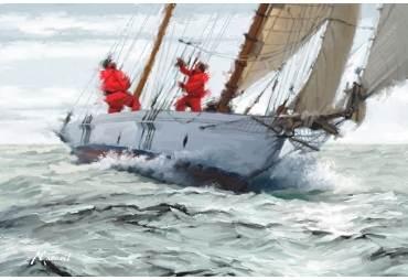Racing Yacht by The Macneil Studio
