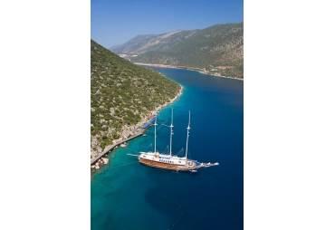 Turkish Yacht, Fethiye bay, Turkey