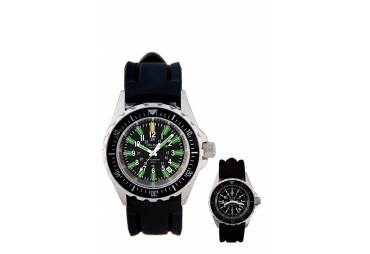 MEN'S SUPERGLO WATCH, 200M, READ IN ANY LIGHT