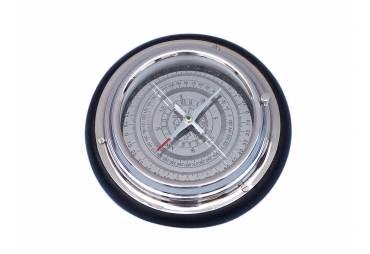 "Chrome Directional Desktop Compass 6"""