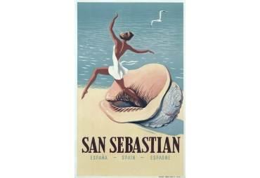 1956 San Sebastian Poster