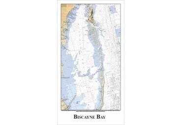 Biscayne Bay, Florida Nautical Chart