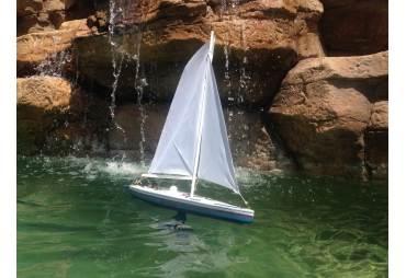"RC Sailboat Model Stars and Stripes 30"""