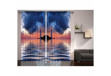 Lighthouse Room Curtain 2 Panels