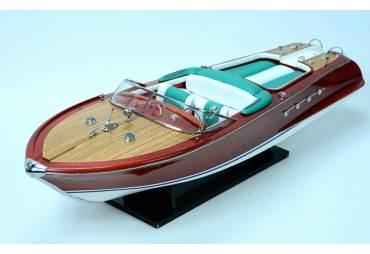 Hand Built Riva Aquarama RC Ready Classic Speed Boat Model