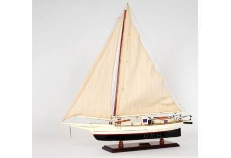 Chesapeake Bay Skipjack Wooden Sailboat Model