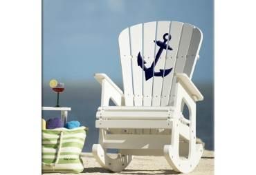 Coastal Rocking Chair