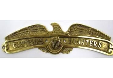 """Brass Eagle """"CAPTAIN'S QUARTERS"""""""