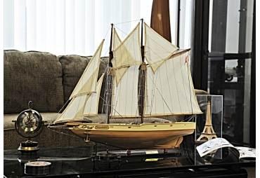 1921 Schooner Bluenose Wooden Model