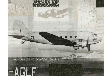 Old Aviation Douglas Dakota