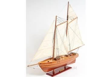 """Schooner """"America"""" Wooden Model"""
