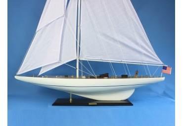 "America's Cup Intrepid Sailboat Model 60"""