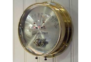 Cape Cod® Brass Temperature Instrument- Indoor/Outdoor - Min/Max