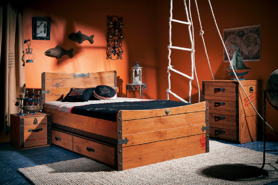 pirate ship bedroom creating nautical themed room 12909